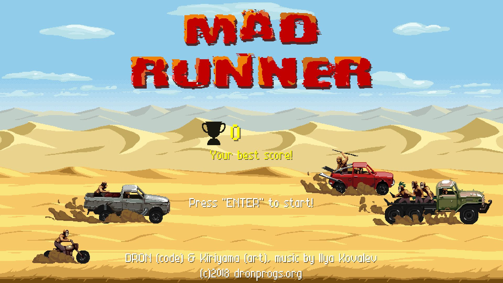 DRON - Mad Runner